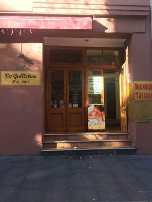 Kent St Massage Sydney store front